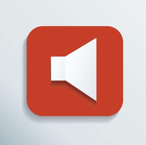 icona del suono illustrazione vettoriale
