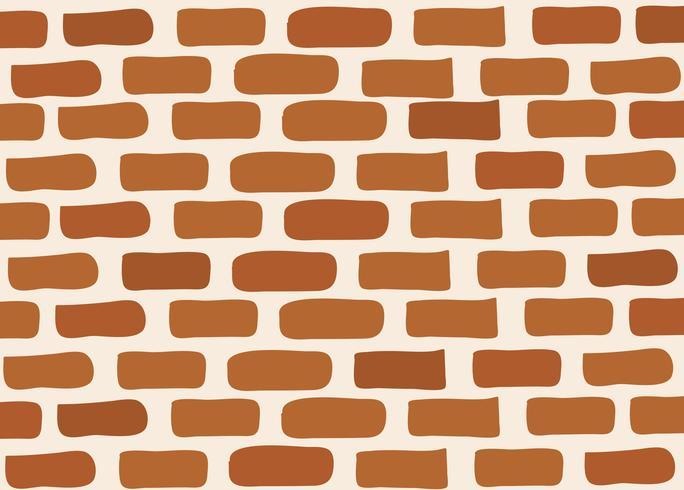 muro di mattoni vettore