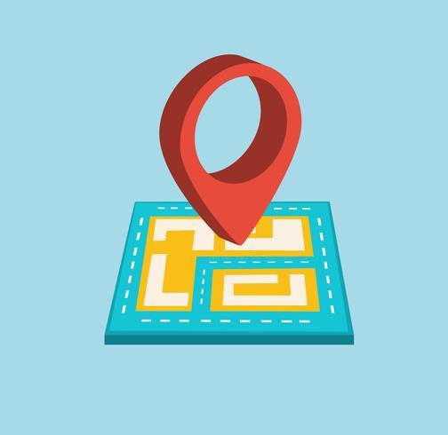 Icona di navigazione vettore