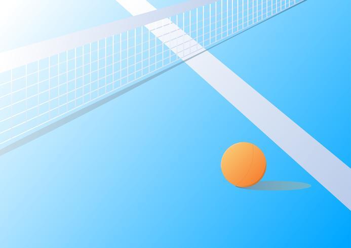 sfondo di ping-pong vettore