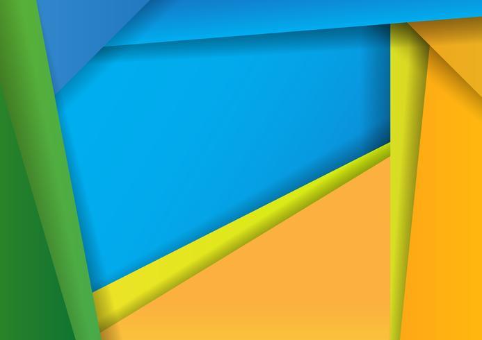 Modello materiale di progettazione di progettazione digitale astratta del fondo Vettore, progettazione dell'illustrazione vettore