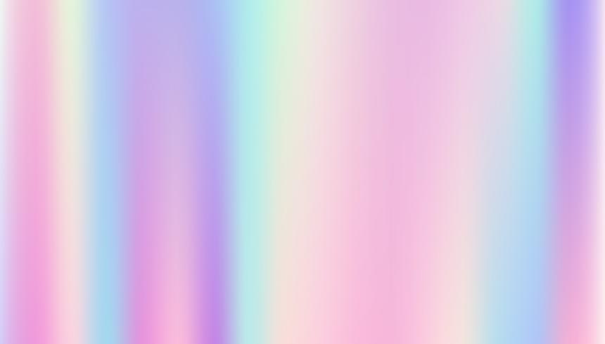 Astratto sfondo liscio e olografico. vettore