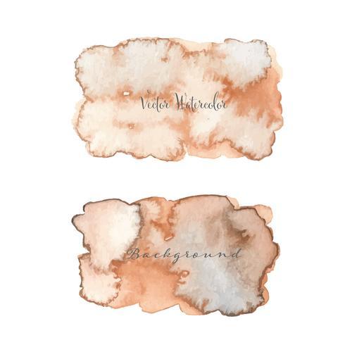 Acquerello astratto. Elemento acquerello per carta. Illustrazione vettoriale