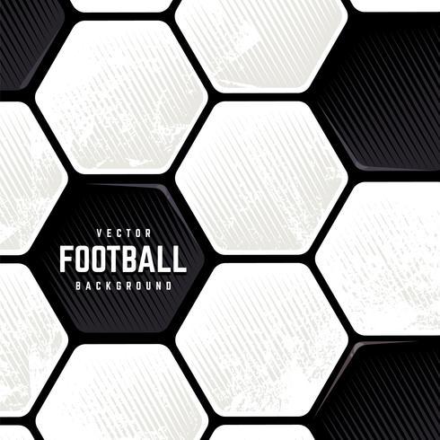 Fondo di superficie della sfera di calcio di Grunge vettore