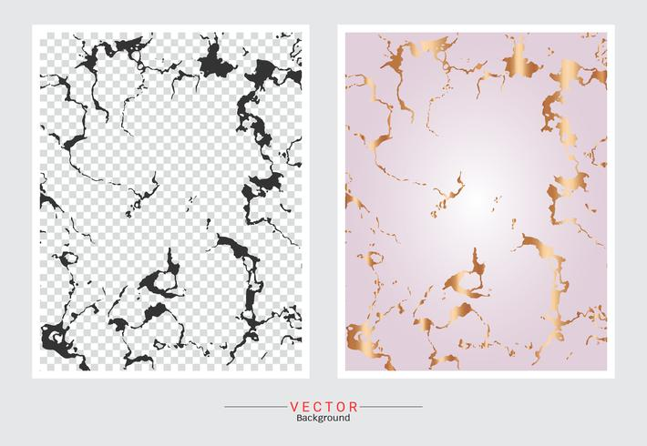Fondo di struttura di marmo oro rosa. vettore