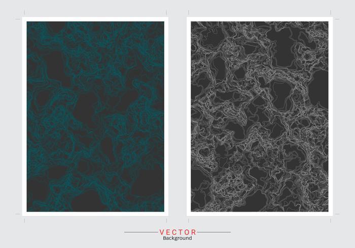 Carta di marmo e sfondo di copertina. vettore