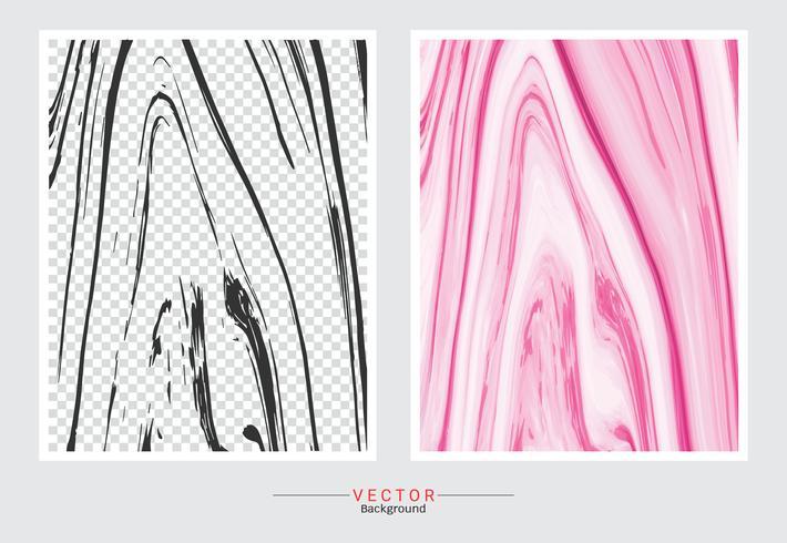 Sfondo di copertina in marmo rosa rosa. vettore
