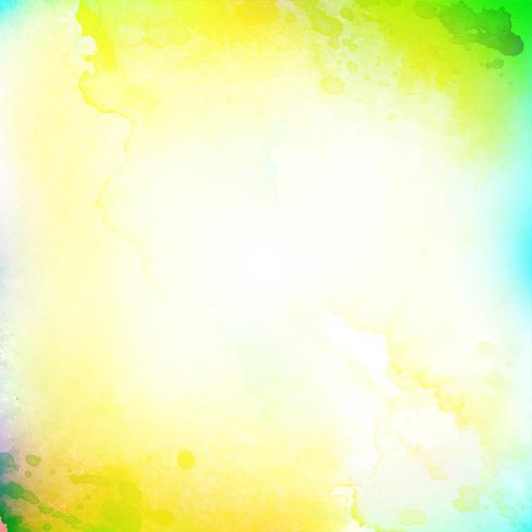 Acquerello astratto sfondo colorato vettore