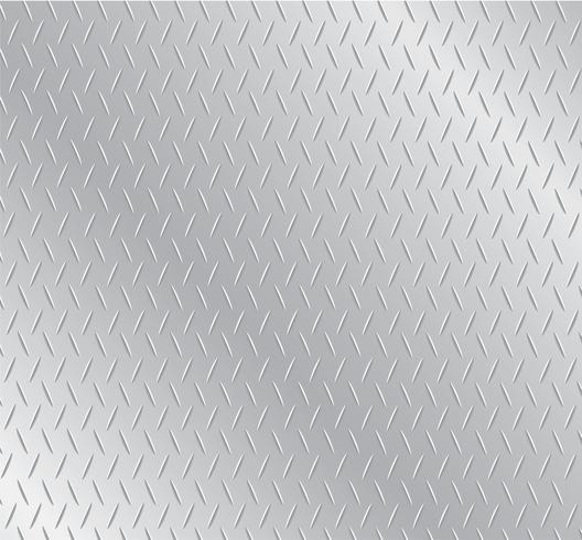 sfondo di piastra metallica vettore