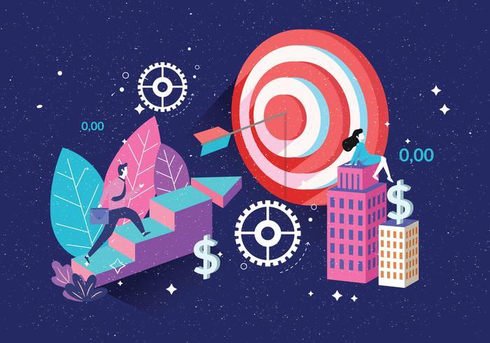 Obiettivi aziendali Vol. 3 Vector