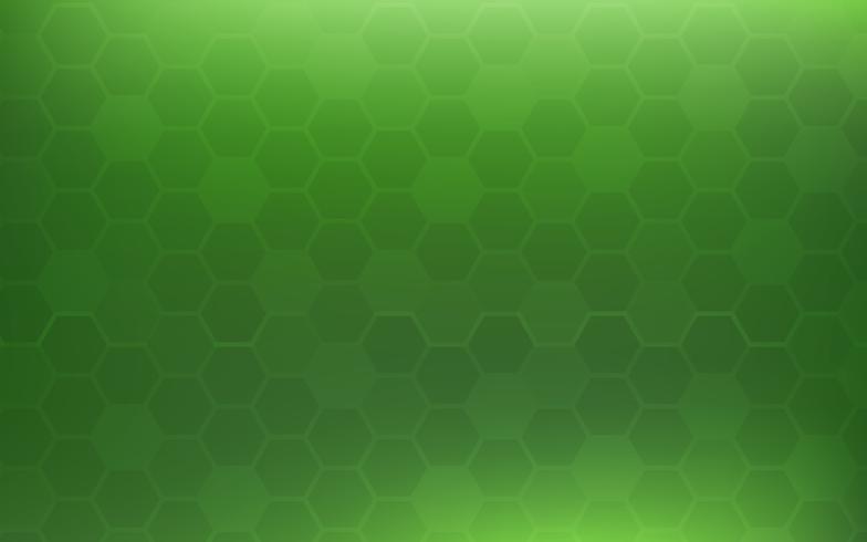 Priorità bassa astratta a nido d'ape verde. Concetto di carta da parati e texture. Tema minimale. vettore