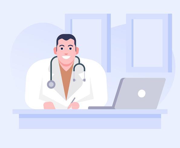Personaggi sanitari vettore