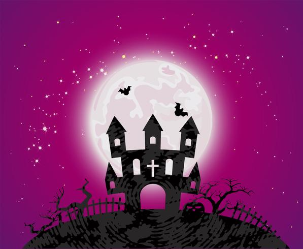 Poster di Halloween vettore