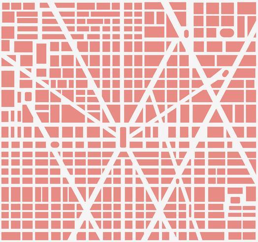 Mappa della città vettore