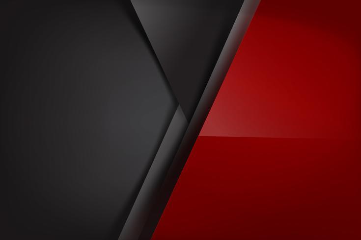 Sfondo astratto rosso scuro e nero si sovrappongono 009 vettore
