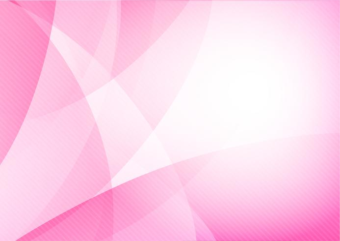 Curva e fonda lo sfondo astratto rosa chiaro 014 vettore