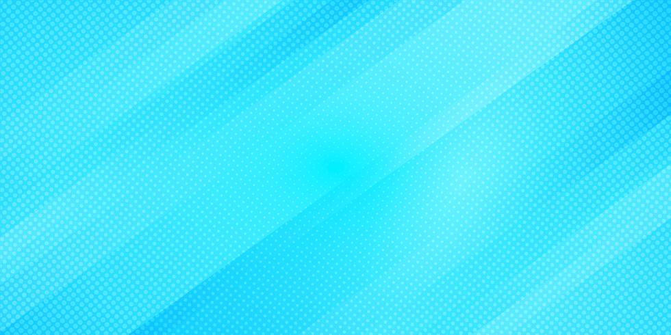 Le linee oblique blu astratte di colore di pendenza barra il fondo e lo stile di semitono di struttura di punti. Trama minimal moderno modello geometrico elegante vettore