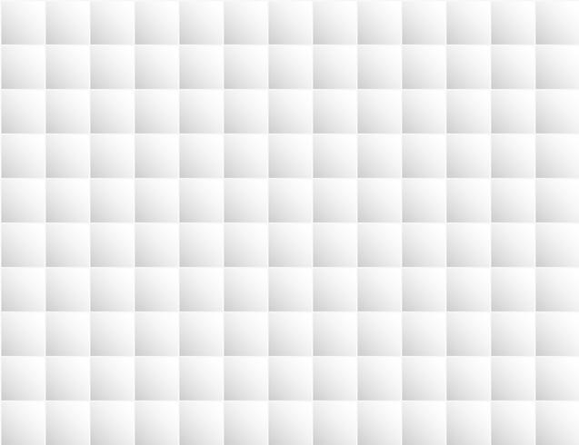 Fondo geometrico bianco astratto Stile del blocco quadrato. Design per sfondo, copertina del libro, interni, carta da parati, pavimento. vettore