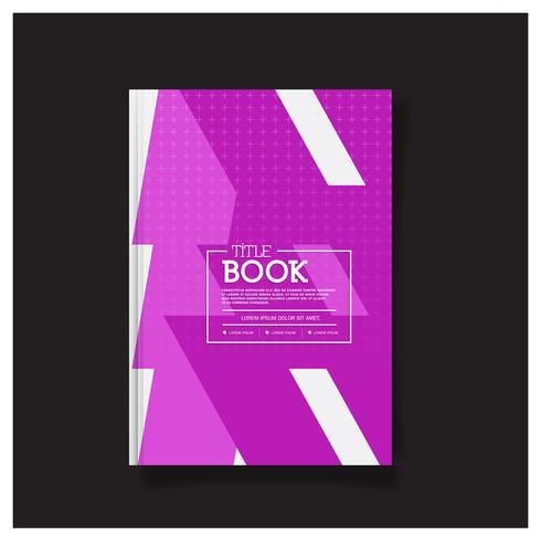 Brochure Design, Copertina Layout moderno, Rapporto annuale, Flyer in A4 Poster Flyer Brochure Cover Design. vettore