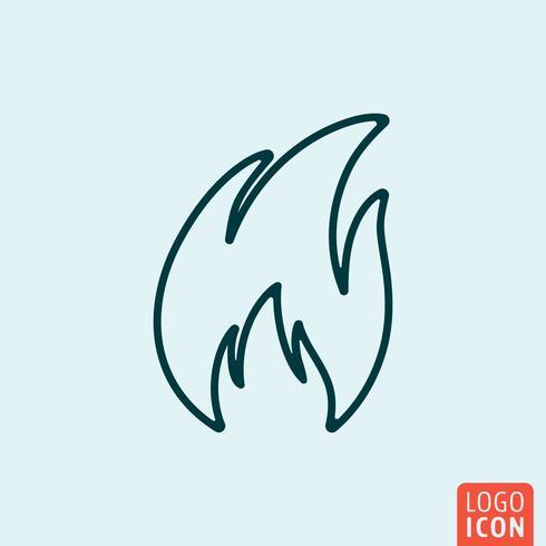 Disegno della linea icona vettore