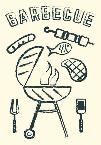 barbecue vettore