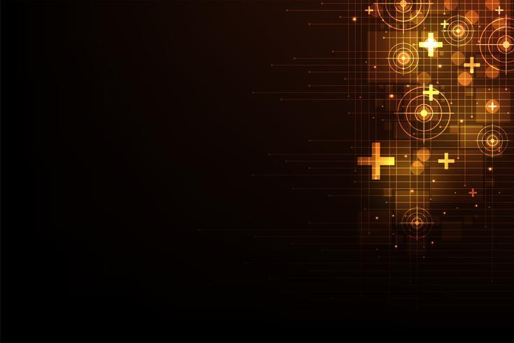 Tecnologia di rete vettoriale di comunicazione.