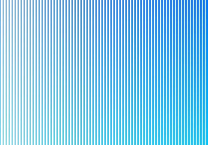 Le linee verticali astratte di colore blu di pendenza modellano su fondo bianco. Design in stile mezzitoni. vettore