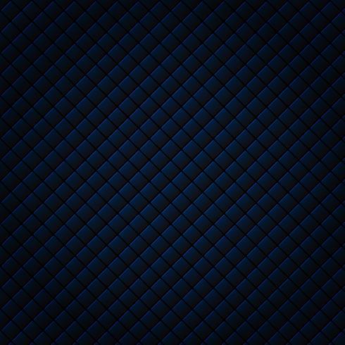 Fondo e struttura sottili neri e blu astratti del modello del quadrato della grata. Stile di lusso Ripeti la griglia geometrica. vettore