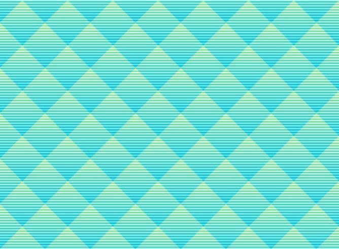 Fondo verde e blu astratto del modello della grata sottile di vettore astratto. Traliccio di colori vivaci in stile moderno. Ripeti la griglia geometrica.