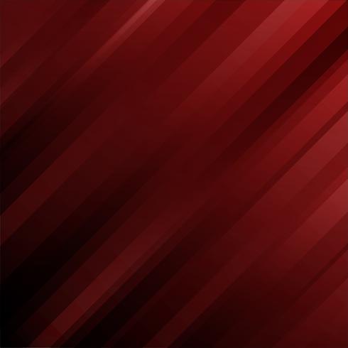 Linee diagonali geometriche del modello futuristico astratto su sfondo rosso scuro. vettore