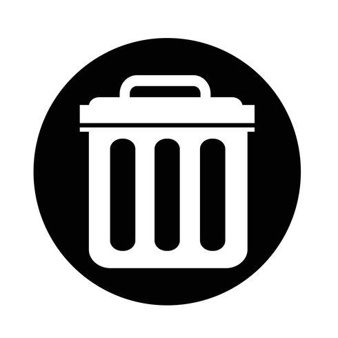 Icona del cestino vettore