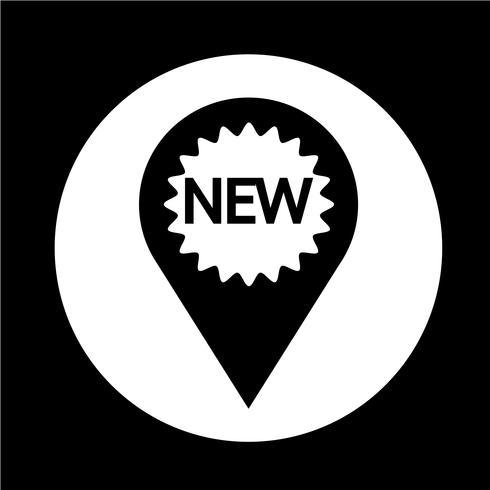 Nuova icona vettore
