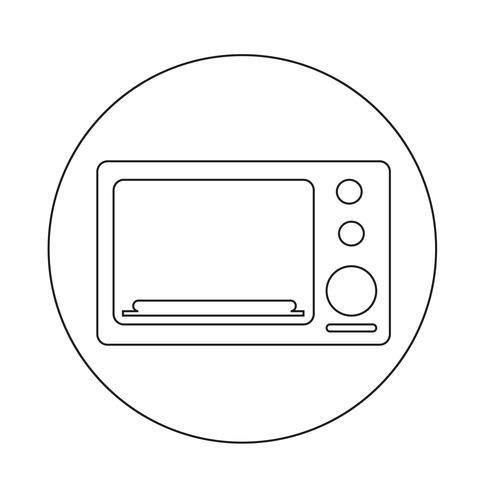 icona del forno vettore
