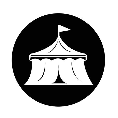 icona del circo vettore