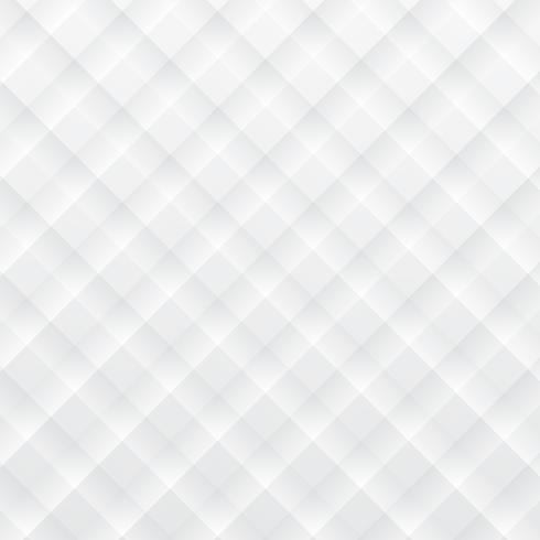 Sfondo bianco moderno Fondo di stile di arte di carta geometrica quadrato bianco vettore