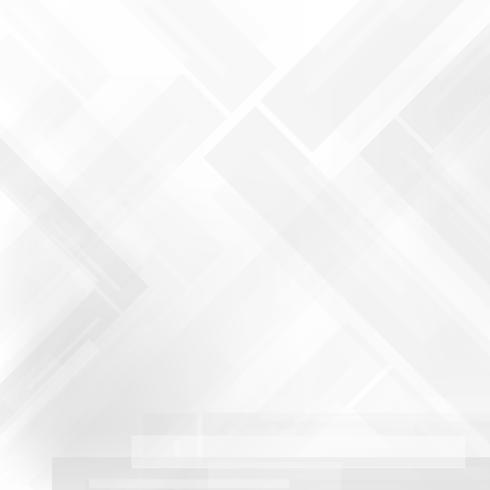 Fondo geometrico astratto di progettazione corporativa di tecnologia grigia e bianca vettore
