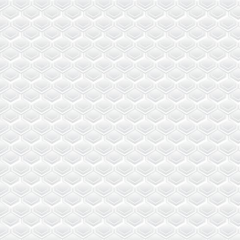 Sfondo geometrico bianco, modello vettore