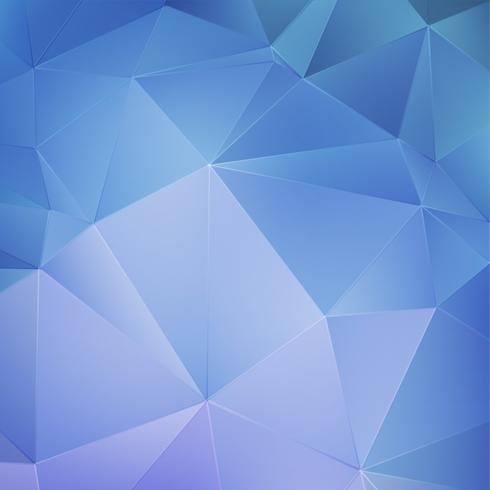 Sfondo geometrico blu vettore