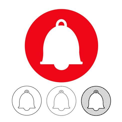 vettore icona campana