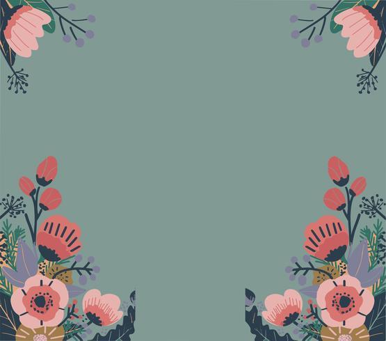 Motivo floreale astratto colorato. Sfondo vettoriale senza soluzione di continuità.