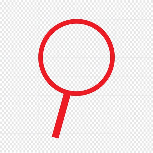 Cerca l'icona illustrazione vettoriale