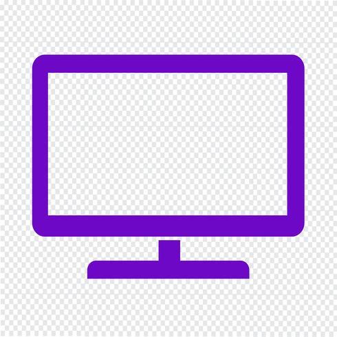 icona tv illustrazione vettoriale