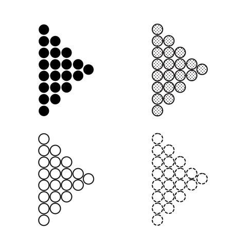 Illustrazione di icona freccia vettoriale