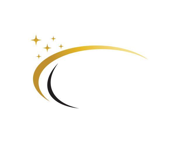Stella logo vettoriale e icona del modello