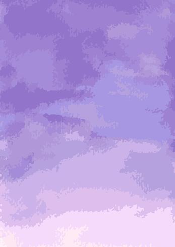 Carta da parati acquerello di carta viola vettore