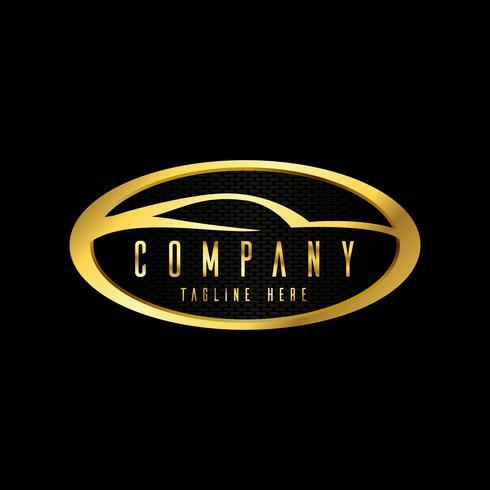 emblemi di auto moderne, badge modello di progettazione del logo per il servizio auto, servizio pneumatici, lavaggio e dettagli. vettore