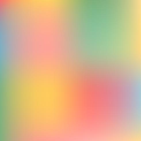 Astratto sfocatura sfondo sfumato con tendenza rosa pastello, viola, viola, giallo, verde e blu colori per degnati concetti, sfondi, web, presentazioni e stampe. Illustrazione vettoriale