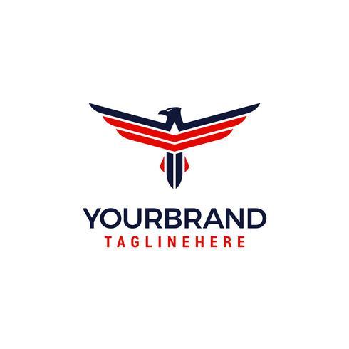 logo dell'America Eagle vettore