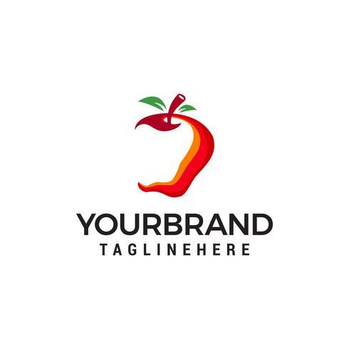 logo della mela Logo Template vettoriale icona design