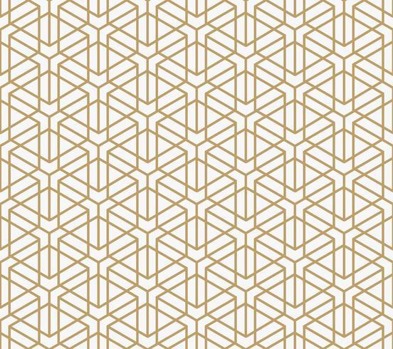 motivo geometrico senza soluzione di continuità con la linea, moderno pa stile minimalista vettore